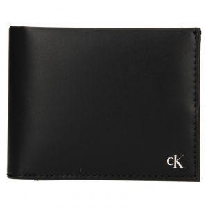 Pánská kožená peněženka Calvin Klein Leeb – černá 111908