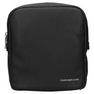 Pánská taška přes rameno Calvin Klein Recycled Pebble – černá 111900