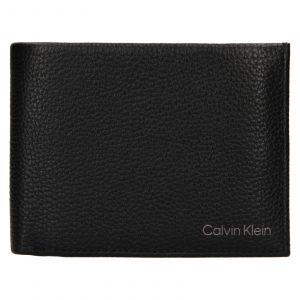 Pánská kožená peněženka Calvin Klein Valer – černá 111913