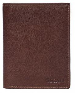 SEGALI Pánská kožená peněženka 81046 brown msg0115