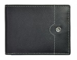 SEGALI Pánská kožená peněženka 755 139 2007 black/cognac msg0151