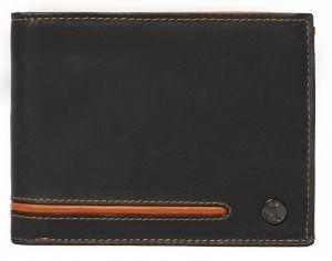 SEGALI Pánská kožená peněženka 730 115 2007 antracite msg0152