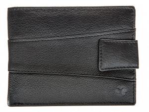 SEGALI Pánská kožená peněženka 61325 black msg0158