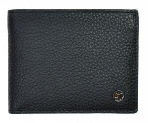 SEGALI Pánská kožená peněženka 725 166 2071 black/grey msg0178