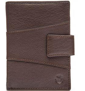 SEGALI Pánská kožená peněženka 61326 brown msg0183