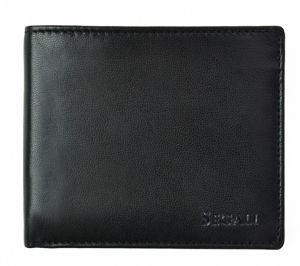 SEGALI Pánská kožená peněženka 7479 black msg0187