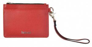 SEGALI Kožená mini peněženka-klíčenka 7290 A red msg0208