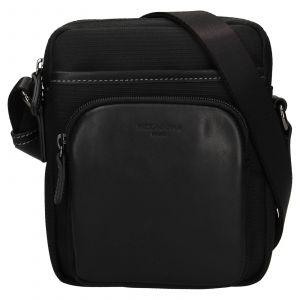 Pánska taška na doklady Hexagona Fonce – černá 112150